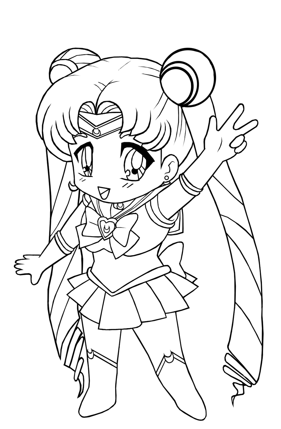 sailor moon color pages - silor moon coloring pagrs minister coloring