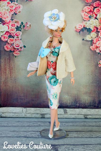 ooak silkstone vintage barbie fashion couture