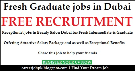 Fresh Graduate jobs in Dubai