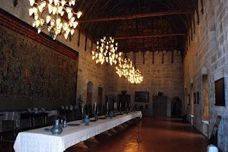 salle banquet palais des Ducs Guimaraes