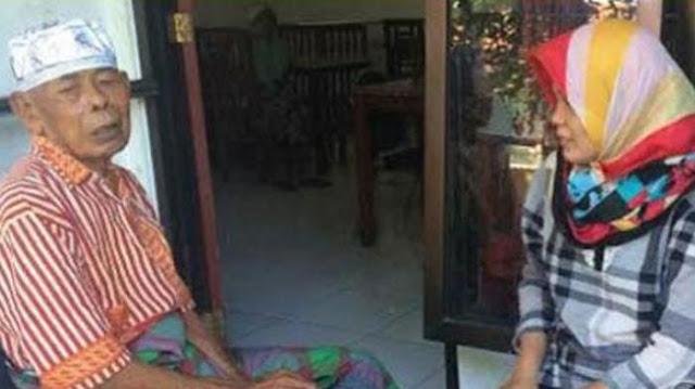 Ingin Berlebaran dengan Keluarga, Seorang Anak Tega Buang Ayah Kandungnya di Malam Takbiran
