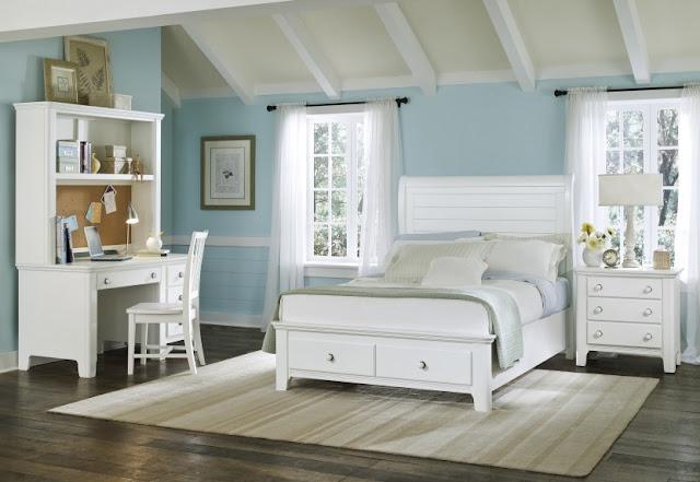 Home Interior Decorating White Bedroom Furniture Ideas