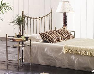 cabeceros de cama en forja actual