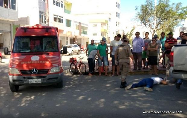 Mulher fica ferida em mais um acidente de trânsito em Santa Cruz do Capibaribe
