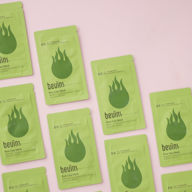 Beuins Pore Clay Mask Kbeauty Pack