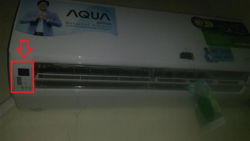 Lampu Indikator AC Aqua Japan Mati