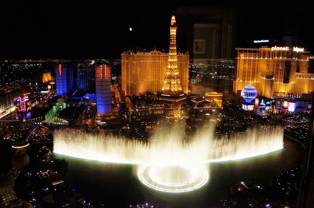 Fountains of Bellagio in Las Vegas
