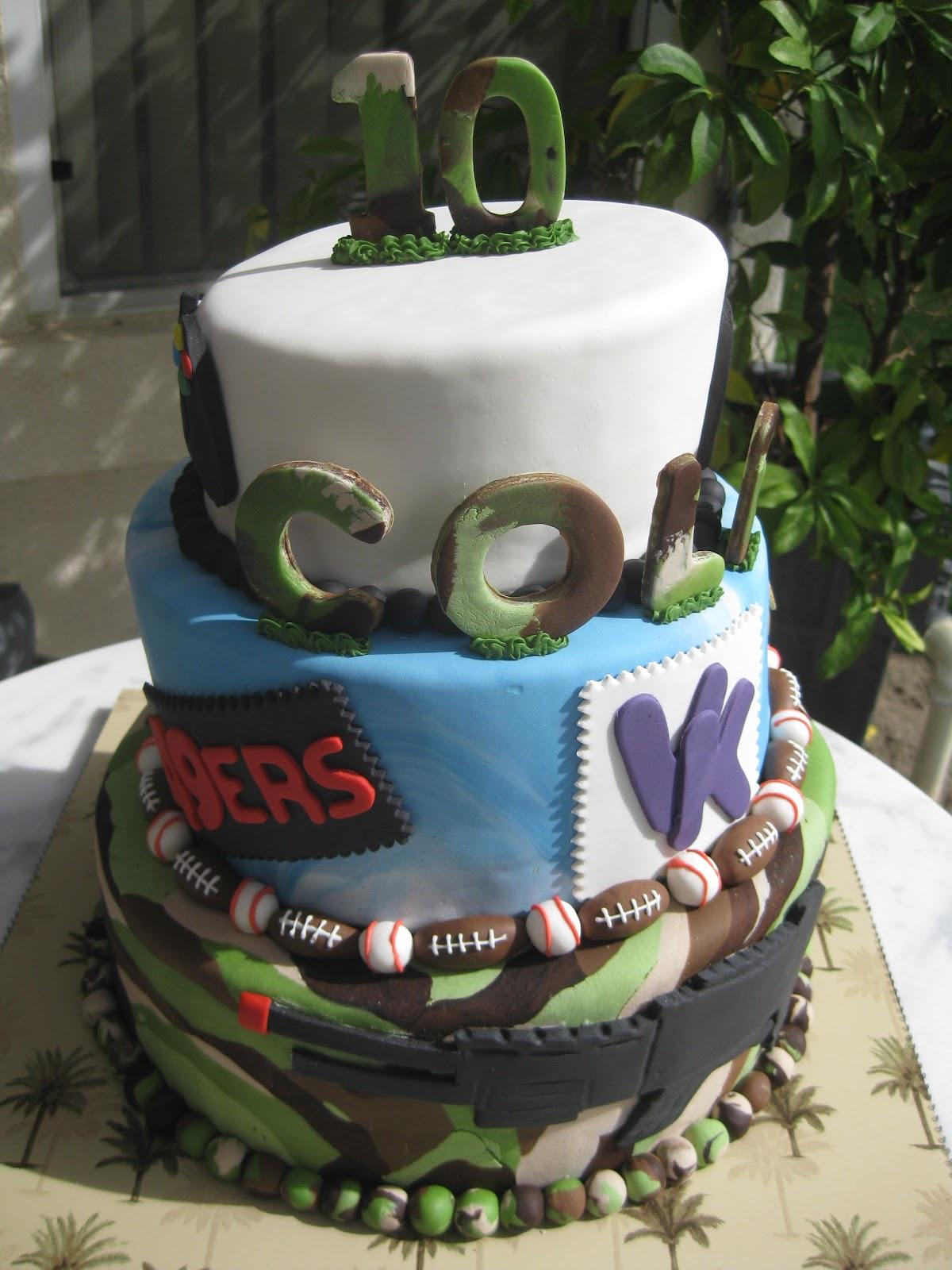 Sugar Chef Cole S Birthday Cake