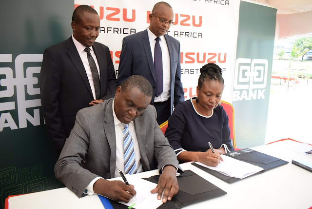 Cooperative Bank of Kenya and Isuzu partnership