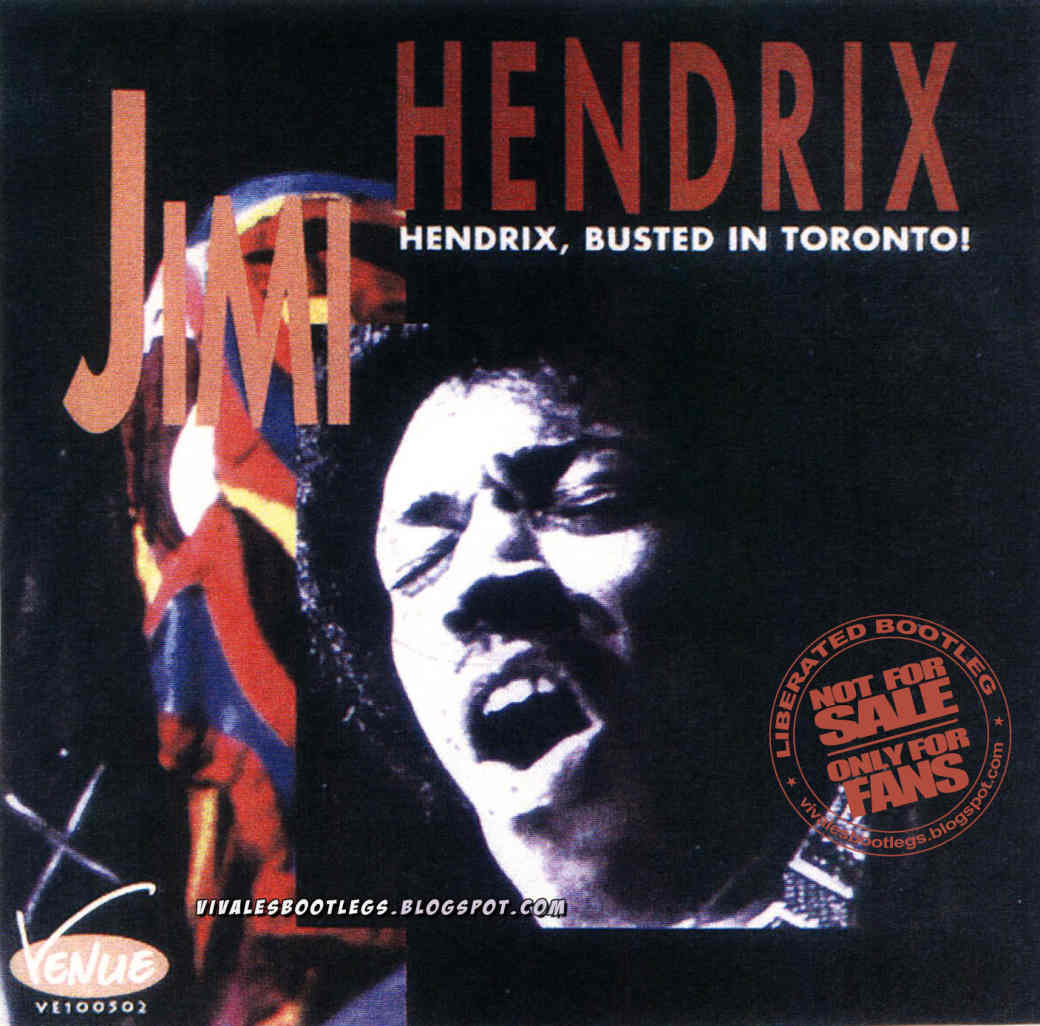 Jimi Hendrix: Busted In Toronto  Maple Leaf Gardens, Toronto