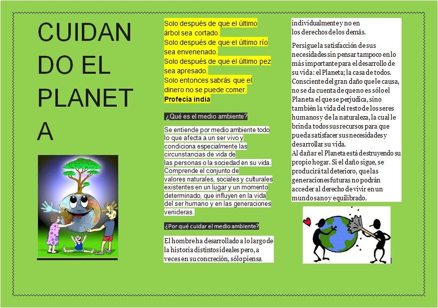 Dibujos Del Cuidado Del Medio Ambiente Finest Publicado: Solución A Los Problemas
