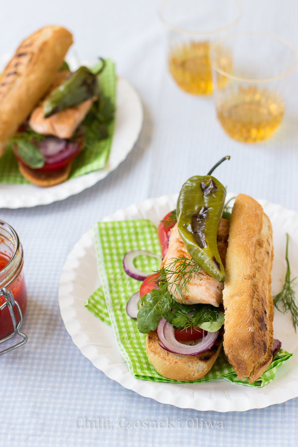 Balık Ekmek, kanapka z rybą znad Bosforu