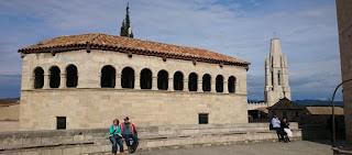 Girona, Plaza de los Apóstoles.