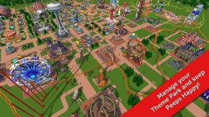 RollerCoaster Tycoon Touch Mod Apk v1.8.49 (Unlimited Money)