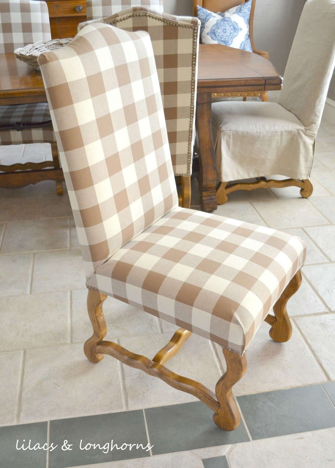 Buffalo Plaid Chair Craftsman Style Chairs Check Dining Room Ideas