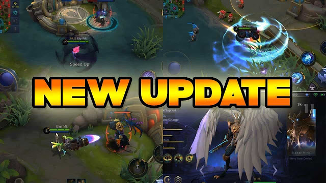 mag saat ada update di mobile legends