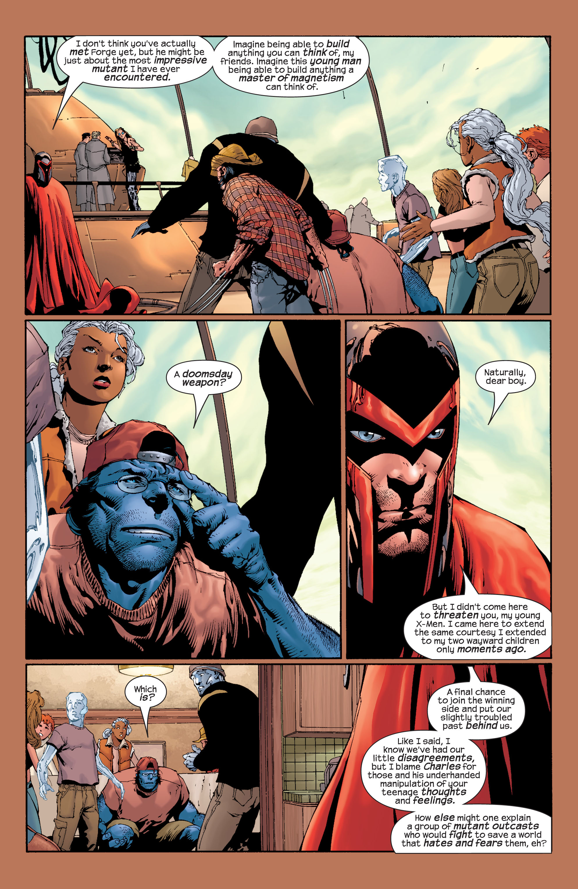 Read online Ultimate X-Men comic -  Issue #28 - 21