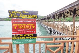 Potensi Wisata Pulau Karampuang