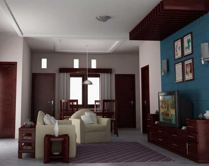 √ 55 Model Plafon Ruang Tamu Minimalis yang Sederhana Terbaru - Calon Arsitek