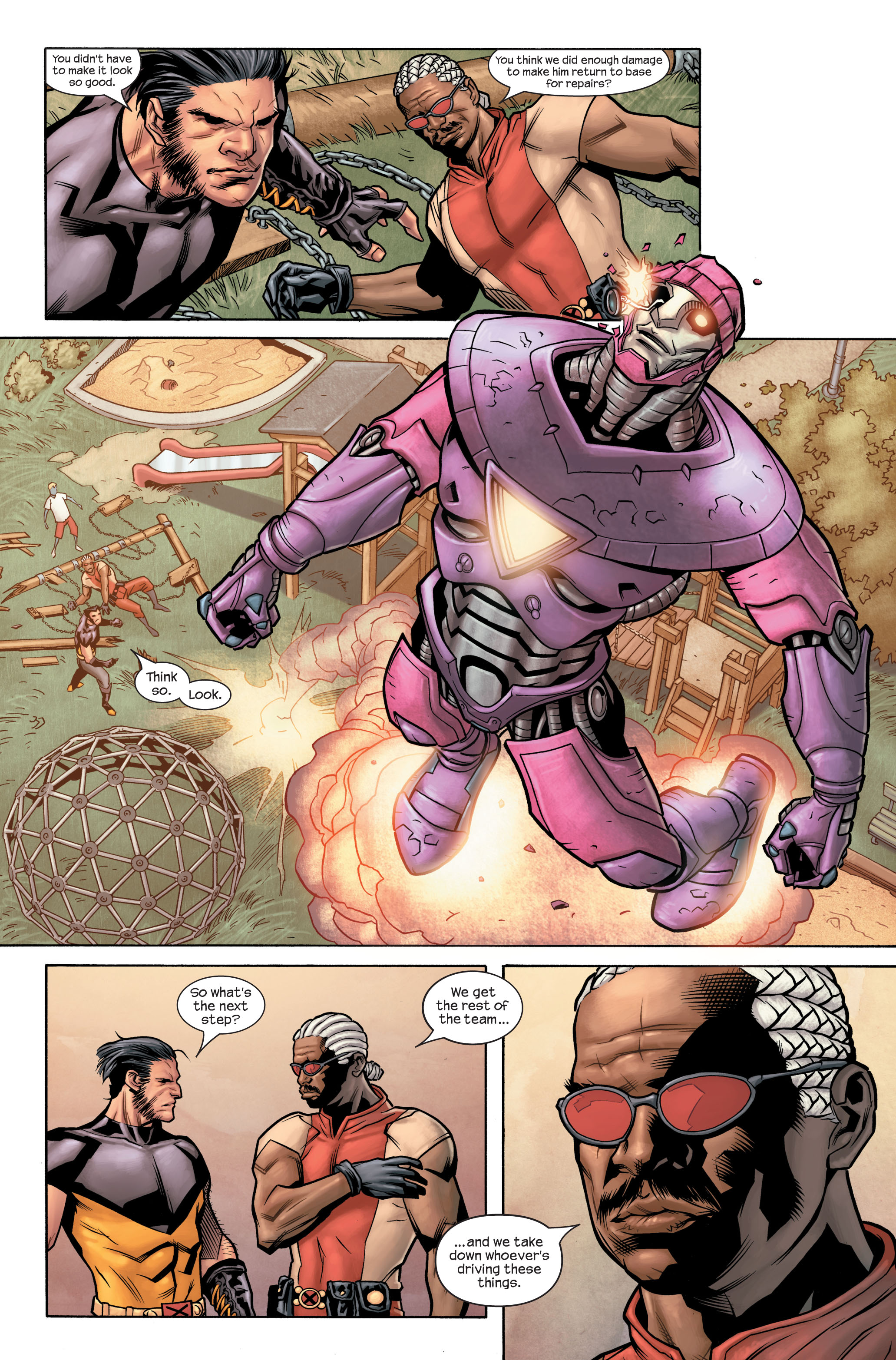 Read online Ultimate X-Men comic -  Issue #85 - 19