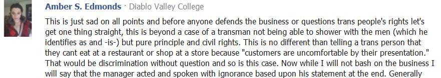 Premise Indicator Words: Planetransgender: Chicago TransMan Levi Pine's Complaint