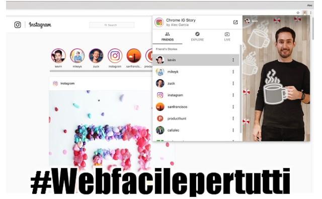 Chrome IG Story | Estensione Chrome per vedere e scaricare le storie su Instagram in anonimato
