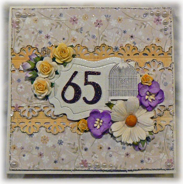 grattis på 65 årsdagen kort Scrapdraken grattis på 65 årsdagen kort