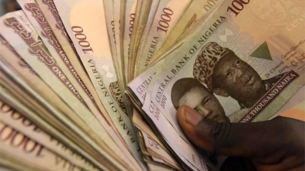 Nigeria Stocks Black Market Naira Soar