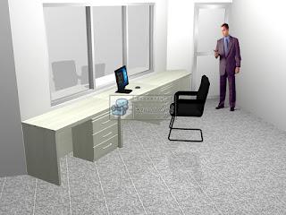 Meja Pengawas Meja Security