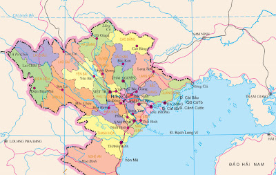 The northern provinces of Vietnam