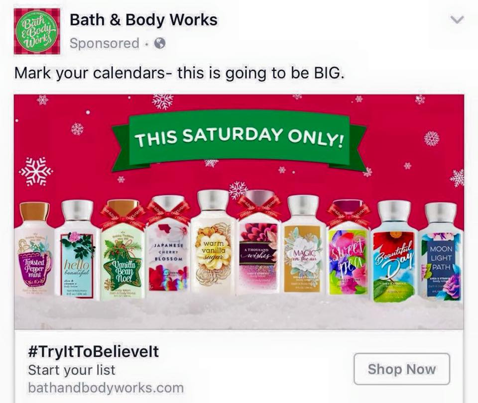 Life Inside The Page Bath Amp Body Works Deal Of The
