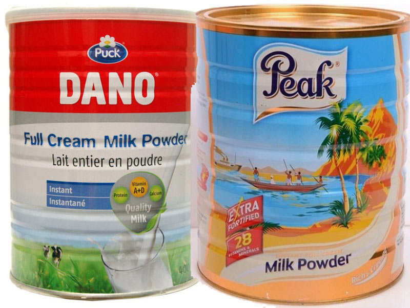 Peak Milk shades Dano Milk on Twitter