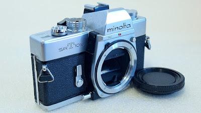 Minolta SRT-101b (Chrome) Body #364