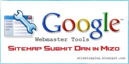 google webmaster tools ah blogger sitemap submit dan