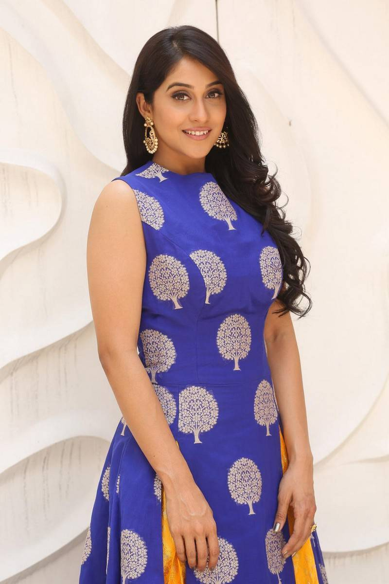 Regina Cassandra Pics In Blue Dress