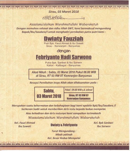 Format Setting Undangan ERBA 2501 cdr