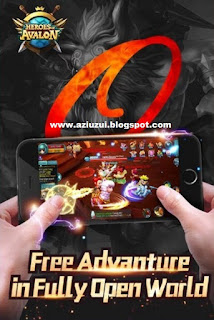 Heroes of Avalon apk + Data
