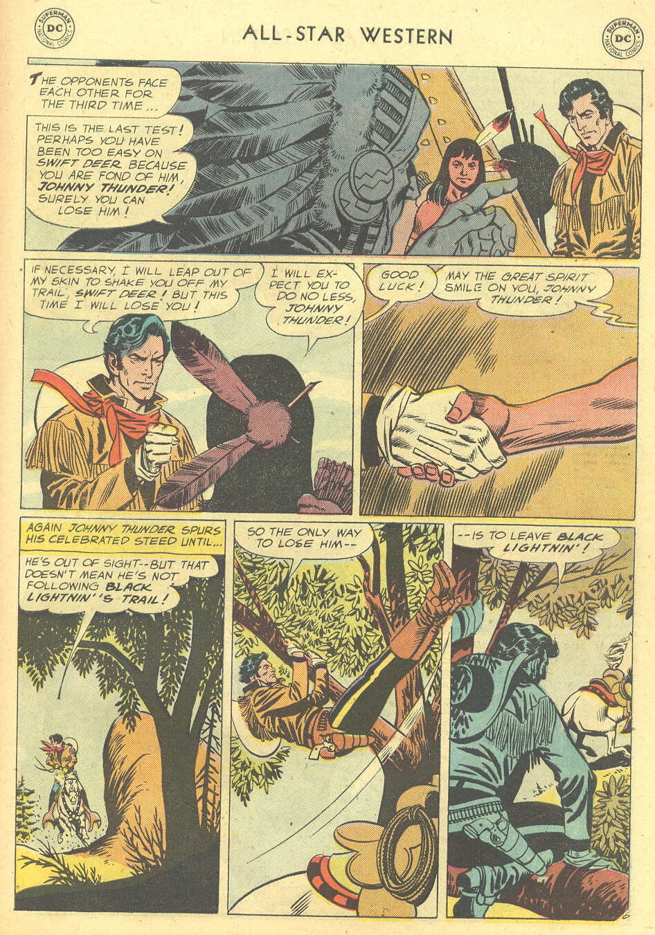 Read online All-Star Western (1951) comic -  Issue #101 - 31