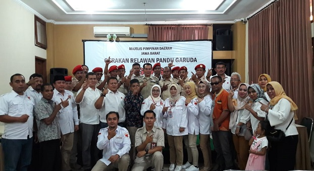 GRPG Siap Menangkan Prabowo-Sandi di Pilpres 2019