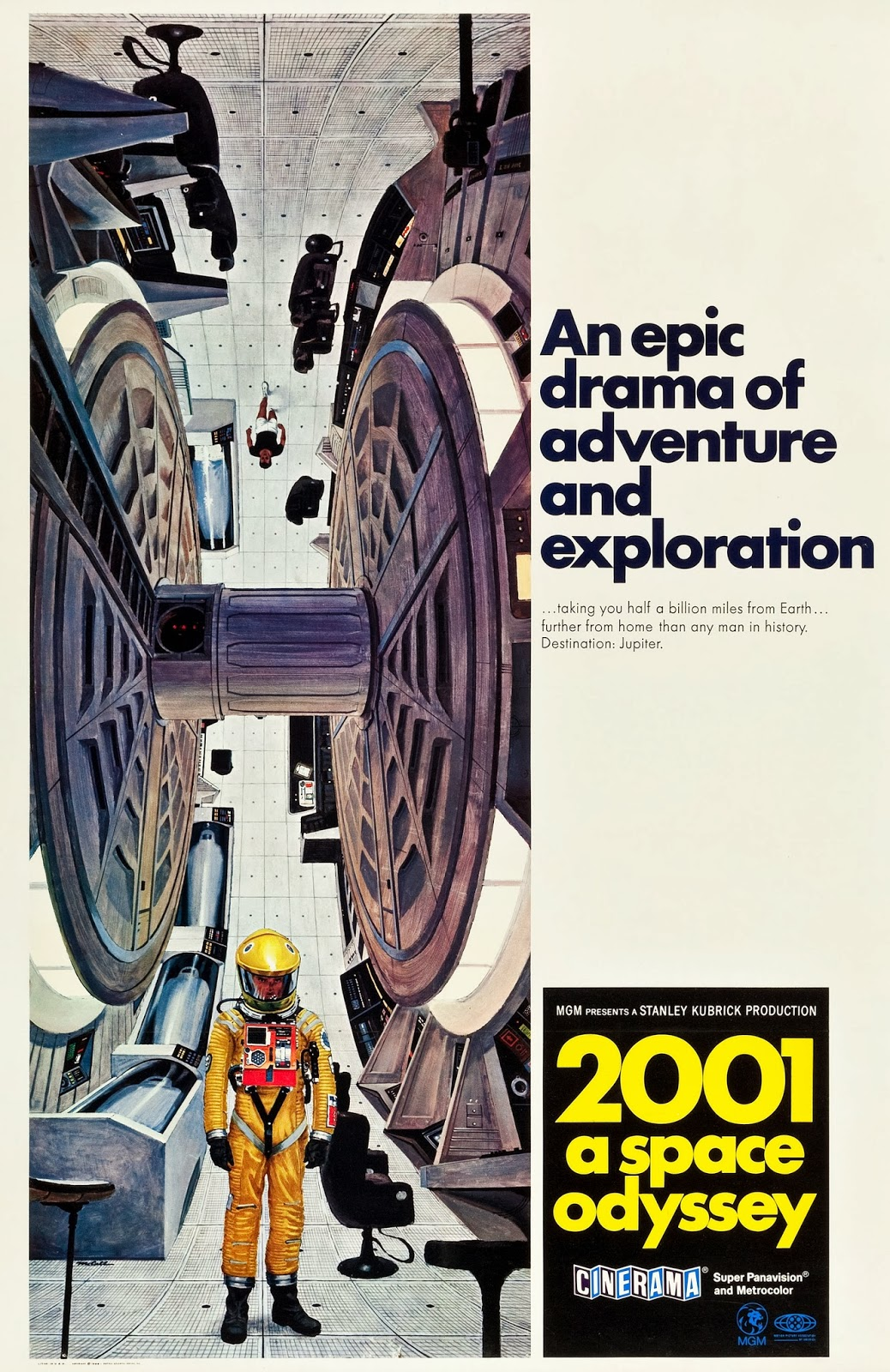 Stunning 2001: A SPACE ODYSSEY Promo Art by Bob McCall ...