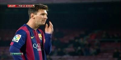 Copa Del Rey : Barcelona 5 vs 0 Elche 09-01-2015