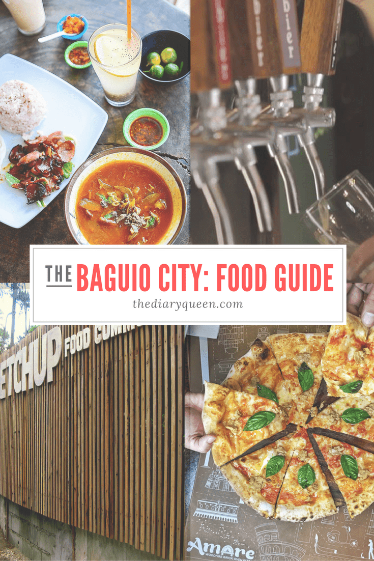 Baguio City Food Guide