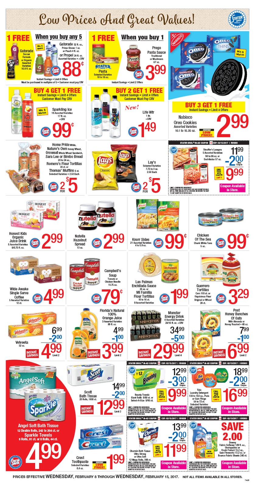 Stater bros weekly deals - Passion coupons