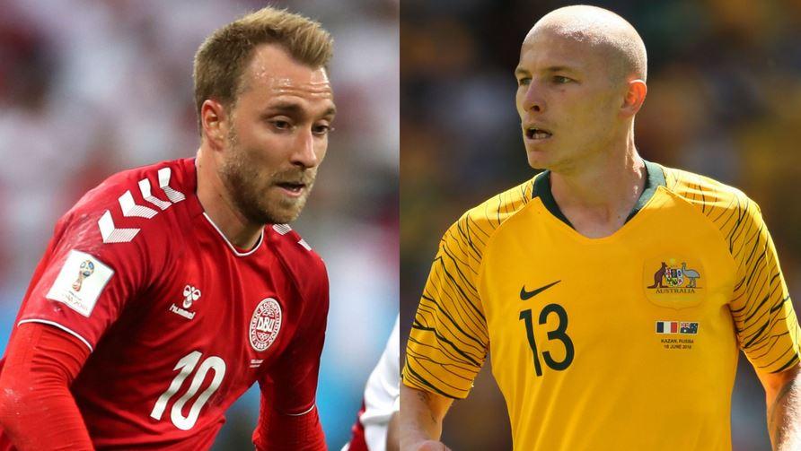 مباراة منتخب الدنمارك واستراليا بث مباشر اليوم 21/6/2018 اون لاين