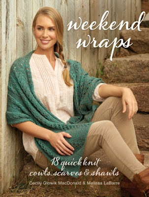 Knitting Like Crazy Blog: Weekend Wraps Book Review