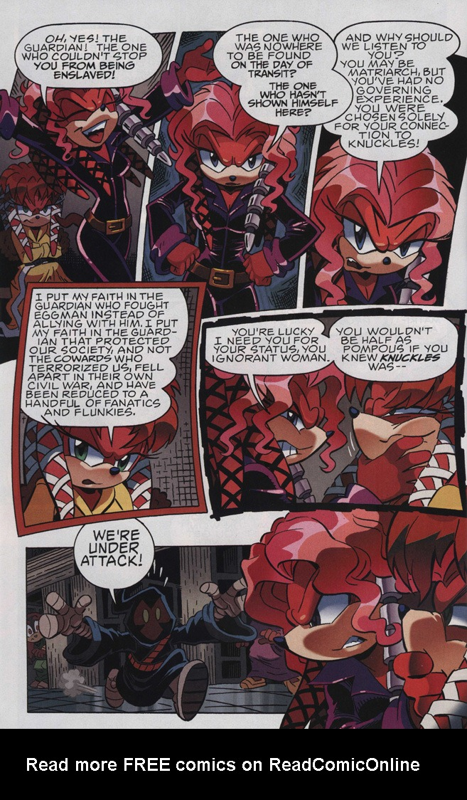 Read online Sonic The Hedgehog comic -  Issue #243 - 22