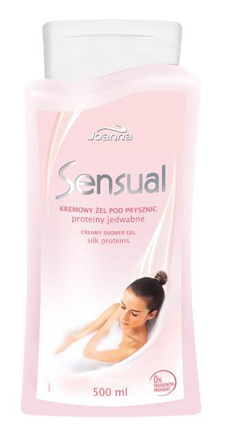 Nawilżenie skóry z linią Sensual od Laboratorium Kosmetycznego Joanna