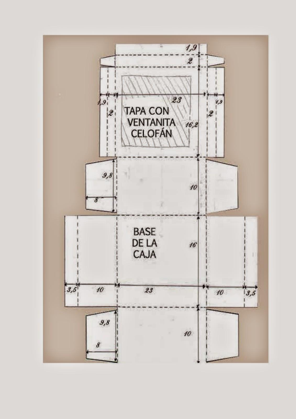 molde para caixa feita em eva