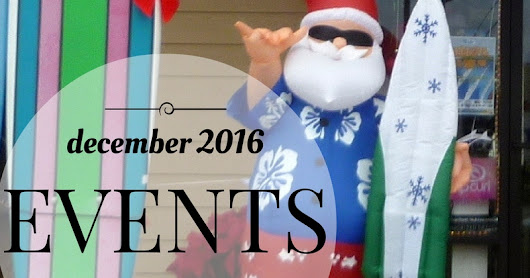 December 2016 Maui Events At A Glance