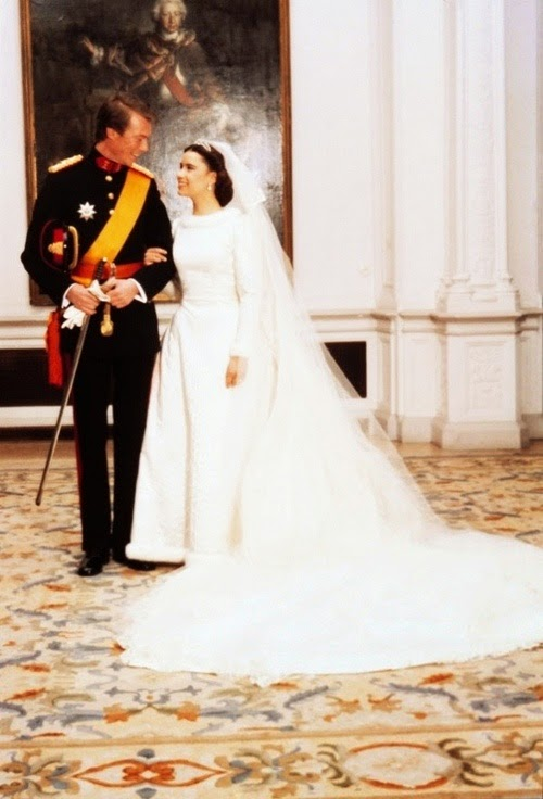 red carpet wedding grand duke henri and mariateresa